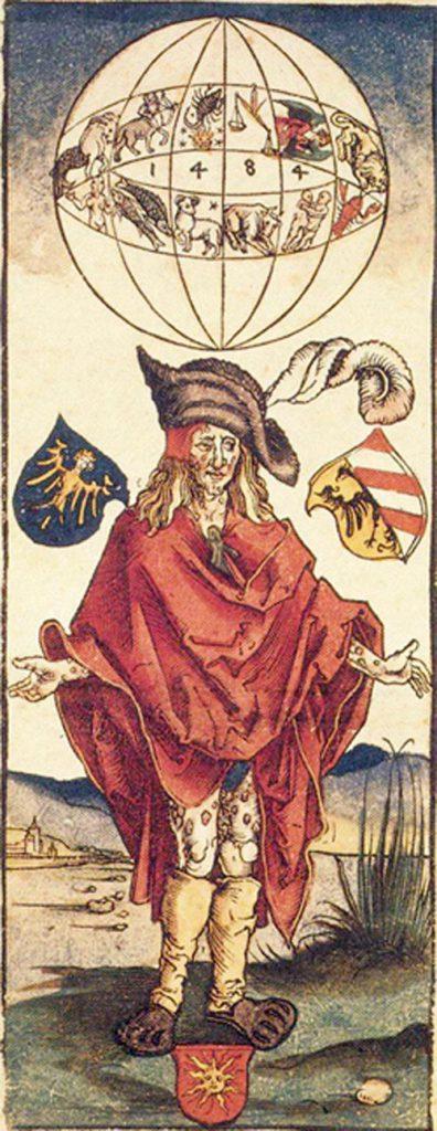 Albrecht Dürer: Representation of a syphilitic (1496)