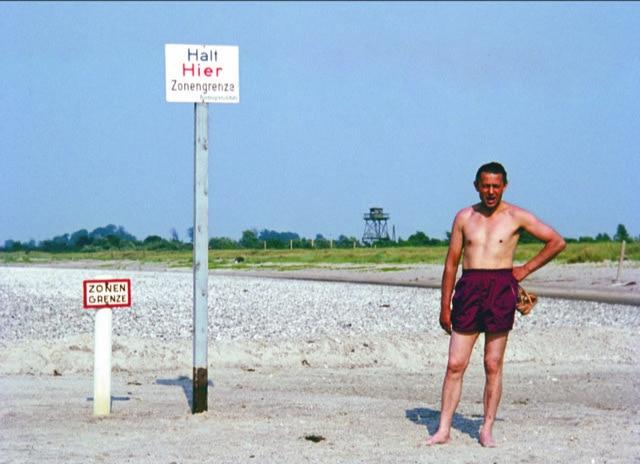 Bild eines Menschen an der innerdeutschen Grenze. Titelbild